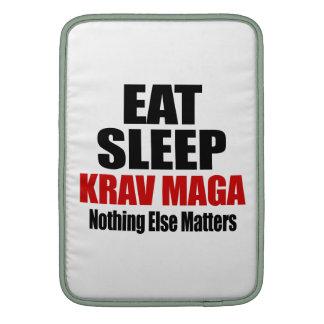 EAT SLEEP KRAV MAGA MacBook SLEEVES