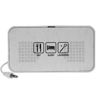 Eat Sleep Lacrosse Travel Speaker