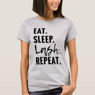 Eat. Sleep. Lash. Repeat T-Shirt