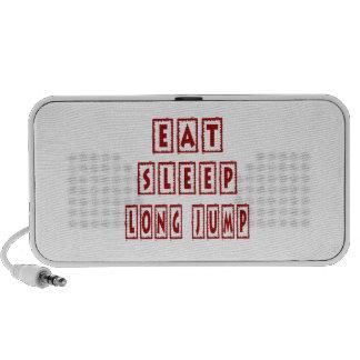 Eat Sleep Long Jump Laptop Speaker