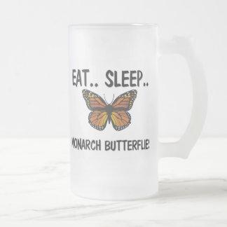 Eat Sleep MONARCH BUTTERFLIES Mug