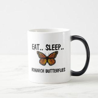 Eat Sleep MONARCH BUTTERFLIES Mugs