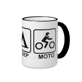 Eat Sleep Moto Mug