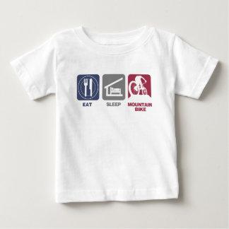 Eat Sleep Mountain Bike Tshirts