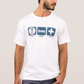 eat sleep nurse T-Shirt