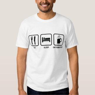 Eat Sleep Oktoberfest Tshirt