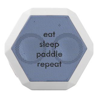 eat sleep paddle repeat speaker