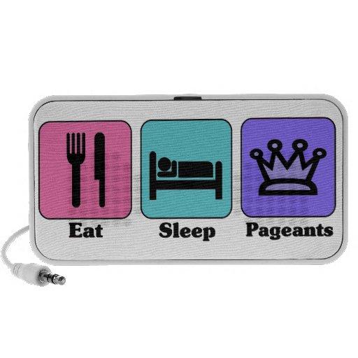 Eat Sleep Pageants Speakers