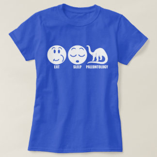 Eat Sleep Paleontology T-Shirt