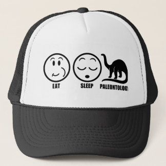Eat Sleep Paleontology Trucker Hat