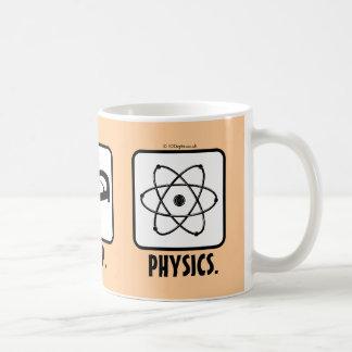 Eat. Sleep. Physics. Coffee Mug