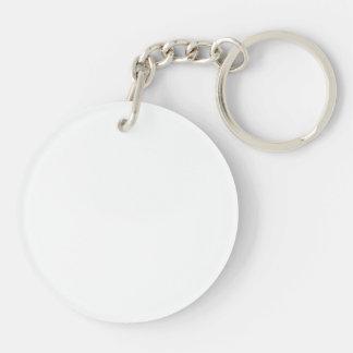 Eat, Sleep, Play Hockey Acrylic Keyring Single-Sided Round Acrylic Key Ring