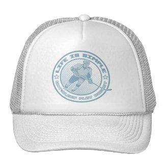Eat, Sleep, Play Hockey Trucker Hat