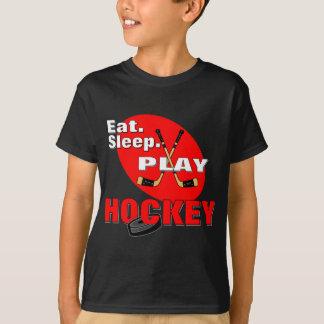 Eat Sleep Play Hockey T-Shirt