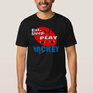 Eat Sleep Play Hockey Tshirt