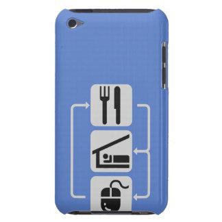 Eat, sleep, play iPod Case-Mate case