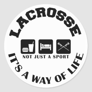 Eat Sleep Play Lacrosse Sticker