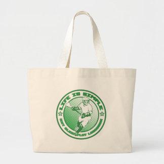 Eat Sleep Play Lacrosse Tote Bag
