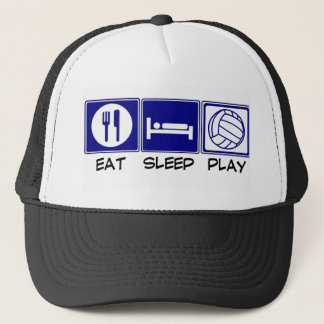 Eat, Sleep, Play Volleyball Trucker Hat