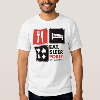 Eat Sleep Poker T Shirt