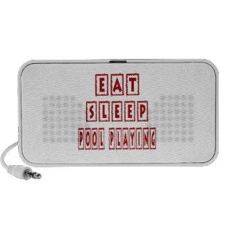 Eat Sleep Pool Playing PC Speakers