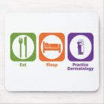 Eat Sleep Practice Dermatology Mouse Pad