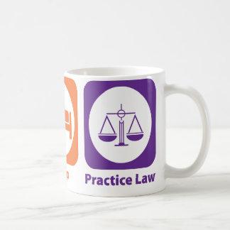 Eat Sleep Practice Law Mug