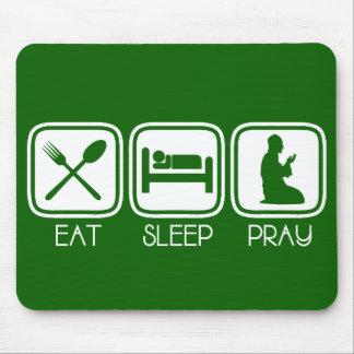 Eat Sleep Pray Mouse Pad
