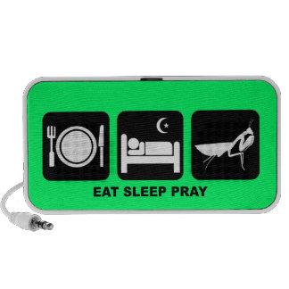 eat sleep pray iPod speakers