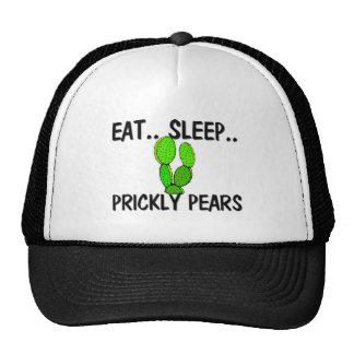 Eat Sleep PRICKLY PEARS Trucker Hats
