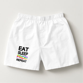 Eat sleep pride repeat boxers