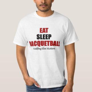 Eat sleep Racquetball Tees