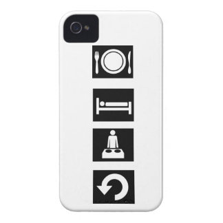 Eat, Sleep, Rave, Repeat. Case-Mate iPhone 4 Case