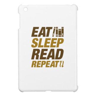 Eat Sleep Read Repeat Cover For The iPad Mini