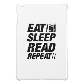 Eat Sleep Read Repeat iPad Mini Covers