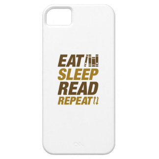 Eat Sleep Read Repeat iPhone 5 Cover