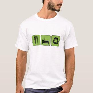 Eat, Sleep, Recycle T-Shirt