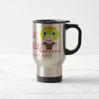Eat Sleep Repeat-Cute Monkey-Morocko Travel Mug