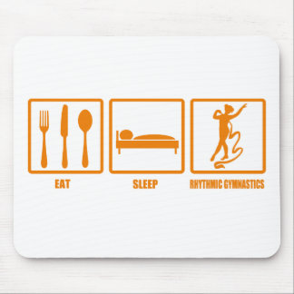 Eat Sleep Rhythmic Gymnastics Mouse Pad
