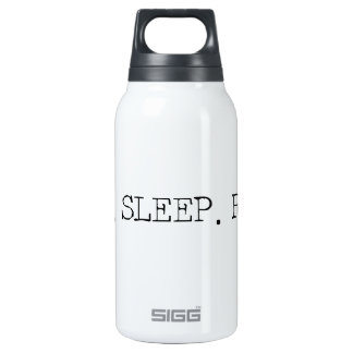 Eat Sleep Ride 0.3 Litre Insulated SIGG Thermos Water Bottle