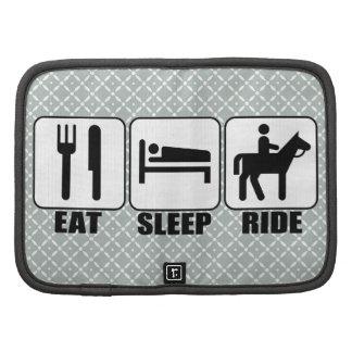 Eat Sleep Ride a Horse Equestrian Horseback Riding Organizers