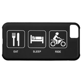 Eat Sleep Ride iPhone 5C Cases