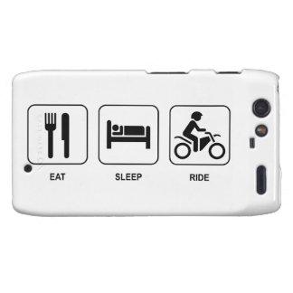 Eat Sleep Ride Droid RAZR Covers