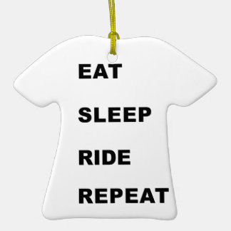 Eat, Sleep, Ride. Ornament