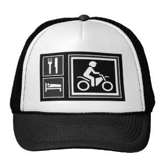 Eat. Sleep. RIDE! Mesh Hat