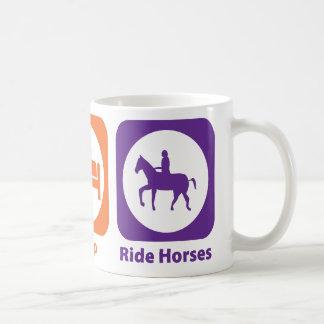 Eat Sleep Ride Horses Mug