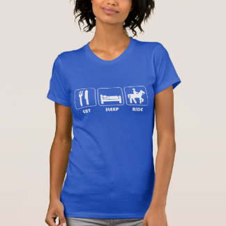Eat, Sleep, Ride Horses T-Shirt