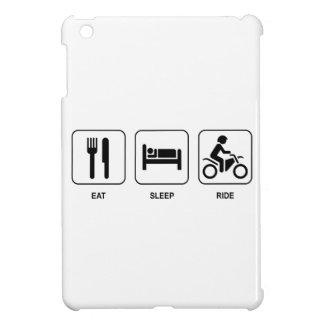 Eat Sleep Ride iPad Mini Cover