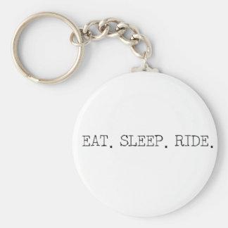 Eat Sleep Ride Key Chain