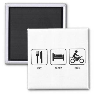 Eat Sleep Ride Refrigerator Magnets